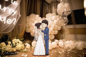 新婚情侣图片