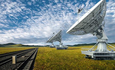 雷达信号塔图片