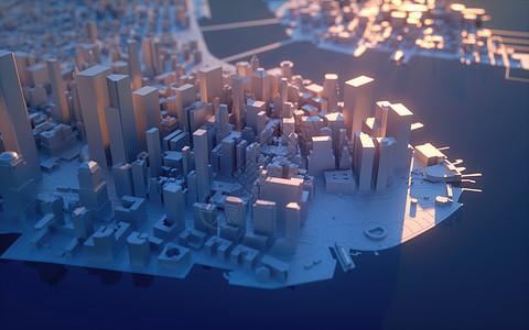 科技城市建筑空间图片