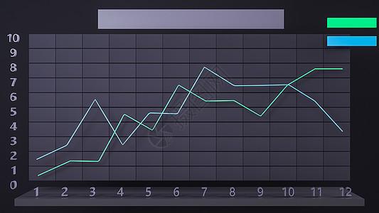 数据趋势图表图片