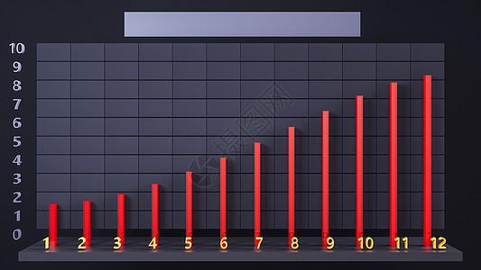 数据图表波动图片