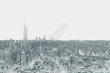 特色城市模型图片