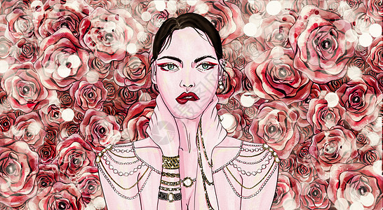 迷幻玫瑰图片