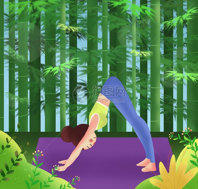 瑜伽健身图片