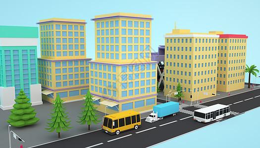 城市发展模型图片