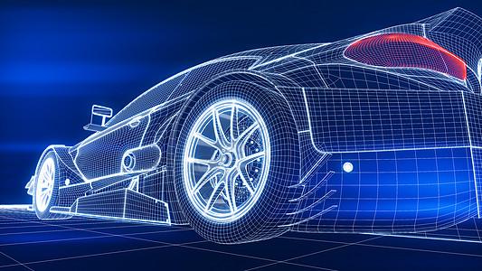科技汽车空间图片