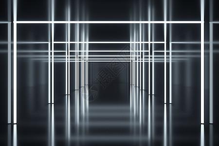 炫酷科幻空间通道图片
