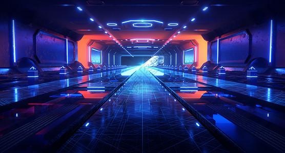 科幻太空通道图片
