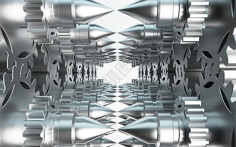 创意齿轮空间图片
