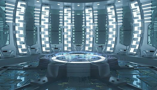 现代科幻场景图片