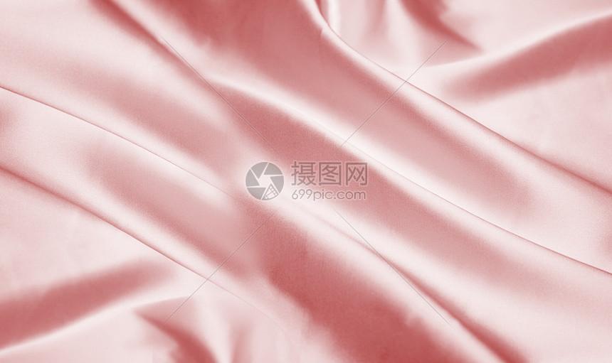 粉色丝绸背景图片