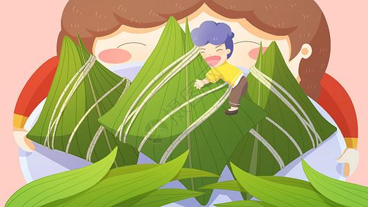 最爱粽子节传统节日端午节图片