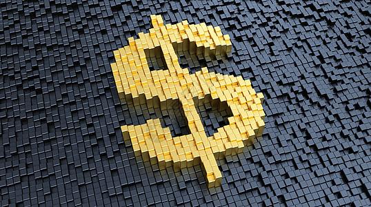 创意美元场景图片