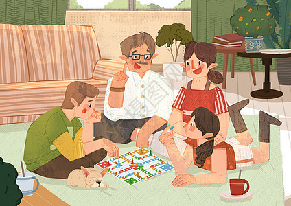 家庭活动图片