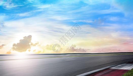 创意公路背景图片