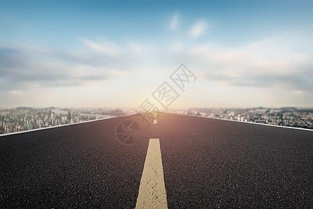 城市公路背景图片