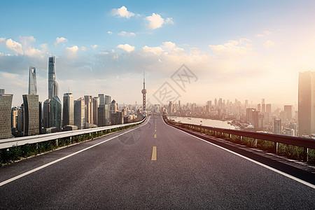 城市道路背景图片
