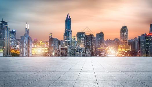 商务城市地面背景图片