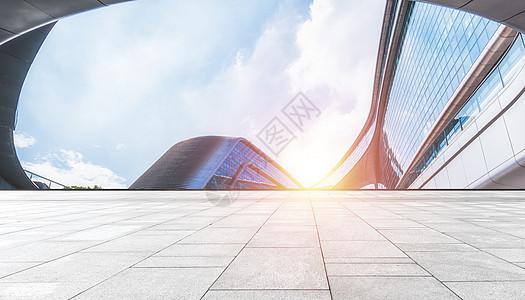 商务建筑背景图片