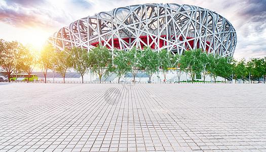 北京鸟巢图片