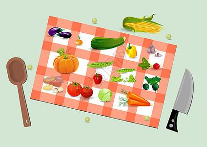 蔬菜食材图片