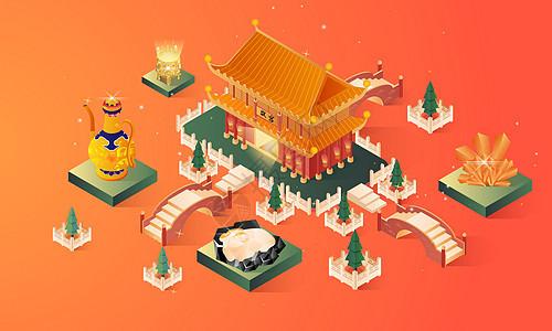 故宫博物馆古董展览图片
