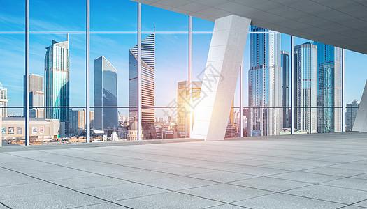 商务城市背景图片