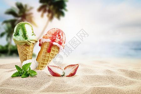 夏日度假图片