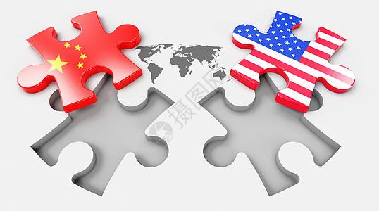 中美贸易图片