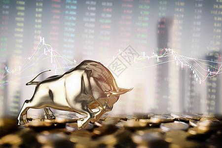 股票牛市图片