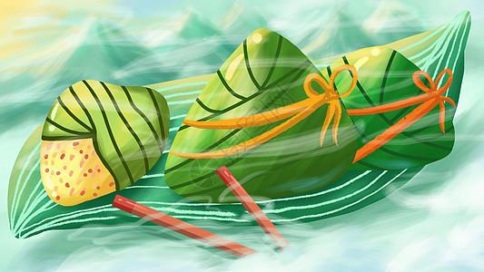 五月初五端午节吃粽子图片