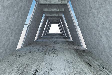 空间通道 创意工业背景图片