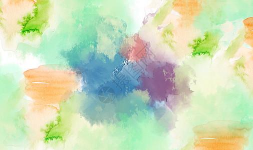 水彩喷溅背景图片