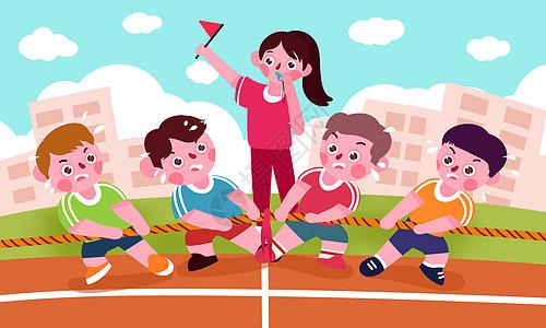 室内水上乐园_儿童游戏场景插画图片下载-正版图片400075222-摄图网