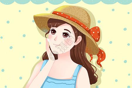 夏季防晒图片