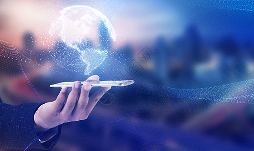 全球互联 科技背景图片