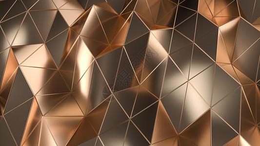 几何金属背景图片