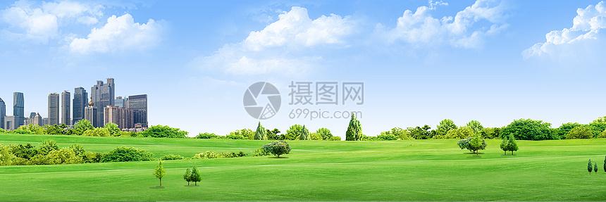 绿色环境背景图片