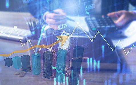 股市走势图图片
