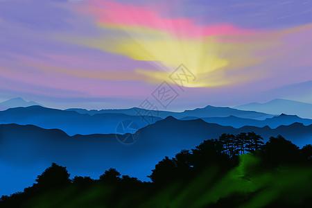 日出云海图片