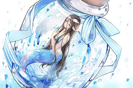 瓶中世界-鱼小姐的忧郁图片
