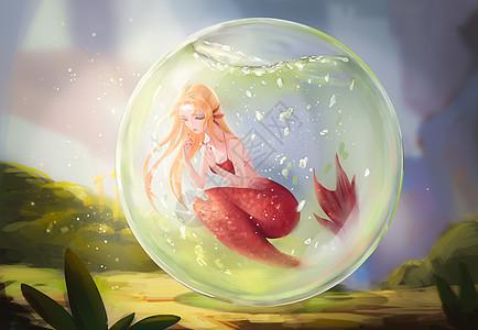 瓶中世界-人鱼公主的悲伤图片