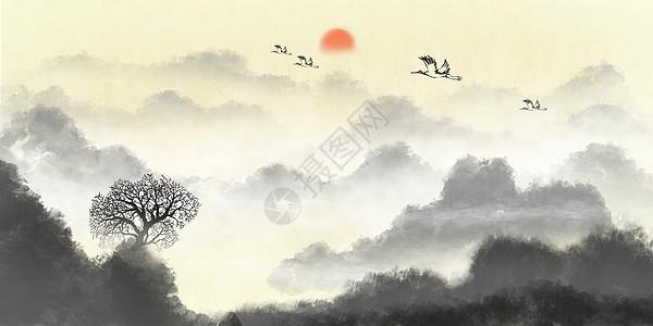 中国风意境山水图片