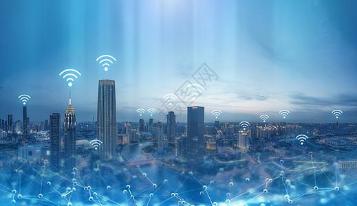 城市无线网络图片