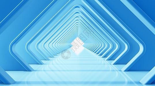 3d创意蓝色商务背景图片