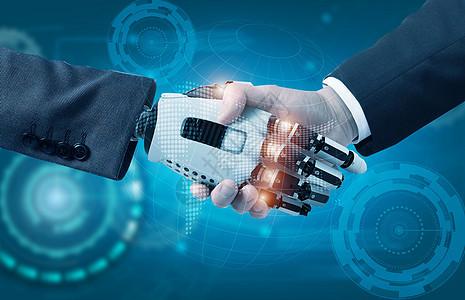 科技商务合作图片