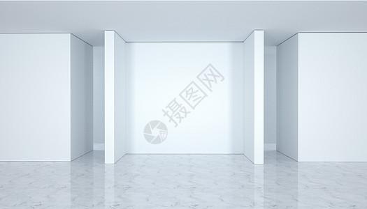 C4D简约白色背景图片