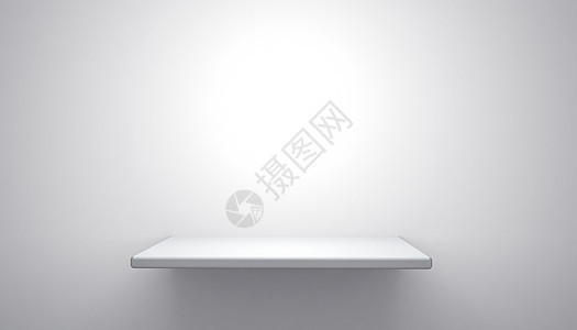 C4D简约白色展台图片