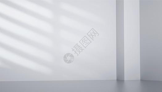 C4D白色墙壁图片