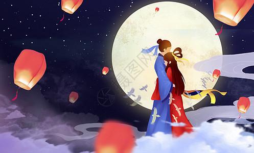 七夕乞巧节图片